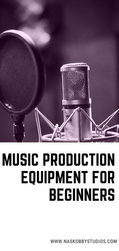 Music Production Equipment For Beginners – Nas Kobby Studios - Music World 2020 Your Music, Music Love, New Music, Music Education, Music Teachers, Music Classroom, Teaching Music, Music Production Equipment, Music Bulletin Boards