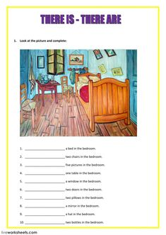 There is - there are interactive and downloadable worksheet. You can do the exercises online or download the worksheet as pdf.