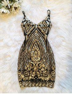 Starlet Sequin Bodycon Dress - JayBela