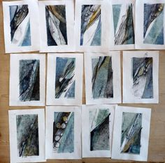 10 Sea Edge Drawings 540x536 Debbie Lyddon: Responding to environment