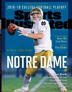 Notre Dame Football, Nd Football, College Football, Noter Dame, Top Ten Books, Go Irish, Sports Illustrated Covers, Irish Catholic, Into The Fire