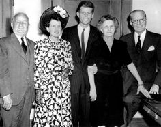 John F. Kennedy is seen here in this November 1946 file photo with his parents, Joe (1st from right) and Rose (3rd from right) and his maternal grandparents following his first congressional victory. This Friday will mark the 50th anniversary of the assassination of President Kennedy on November 22, 1963. UPI/Files