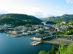Flekkefjord, Norway (Where my mother was born)