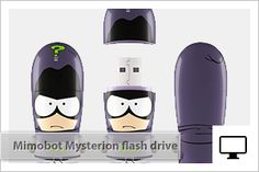 Mimobot South Park Mysterion USB flash drive limited edition for San Diego Comic Con 2013... awesome!!!
