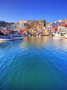Procida Island, Campania, Italy