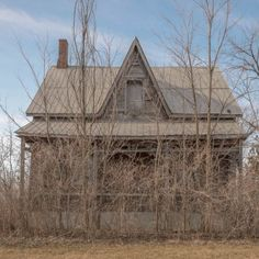 A creepy abandoned house in Ontario canada.  www.freaktography.com