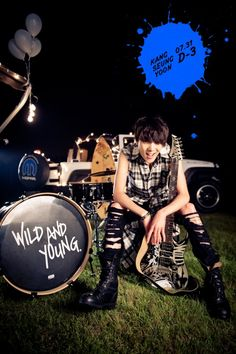 Kang Seung Yoon shows his cute charms in new teaser images for 'Wild and Young' | allkpop