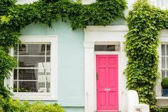 8 Unusually Beautiful Front Door Colors You'd Never Think to Try   Apartment Therapy
