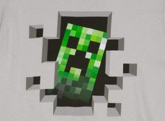Minecraft Creeper Inside Premium Tee