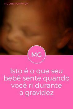 Isto é o que seu bebê sente quando você ri durante a gravidez