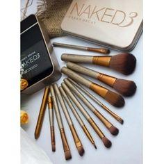 URBAN DECAY Naked 3 12 pcs brush set