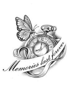 tattoo see more 42 9 papirouge tattoo zeichnungen tattoo studio Tattoo 1 Watch Tattoos, Fake Tattoos, Body Art Tattoos, New Tattoos, Sleeve Tattoos, Tatoos, Clock Tattoos, Rip Grandpa Tattoo, In Memory Of Tattoos