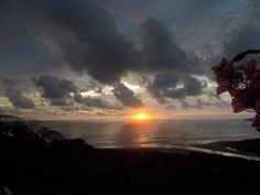 Tamarindo, Costa Rica at Sunset