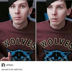 If Phil is in the picture, it's always the right time.