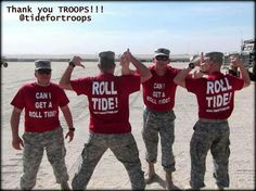 Roll Tide Troops!