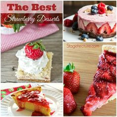 How to Make the Best Summer Strawberry Desserts. Try these patriotic strawberry desserts that are quick desserts and perfect for your summer gatherings. http://stagetecture.com/make-best-summer-strawberry-desserts/ #strawberry #desserts #summer