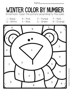 Color by Lowercase Letter Winter Preschool Worksheets Polar Bear Bear Activities Preschool, Bear Theme Preschool, Preschool Colors, Numbers Preschool, Kindergarten Worksheets, In Kindergarten, Preschool Ideas, Polar Bear Color, Polar Bears