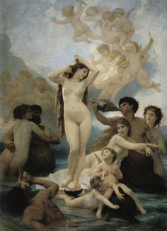 Birth of Venus - William Bouguereau, 1879