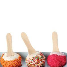 Cake paddle pops
