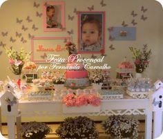 Festa Provençal: Borboletas para linda Maria Flor!