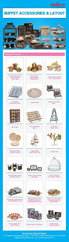 Anupam,Chafing Dish, Kenford, Banquet Tables, Catering Display, Gastronorm Pan, Food Counter, Snacks Trolley, Chaat counter, GN Pan, Hotelwares, Hospitility, Buffet Counter. http://anupamhotelwares.com/