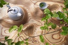 It's Tea Time with this #Wood Tray: a world #WoodMade for #WoodLovers