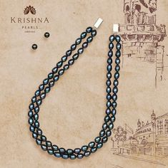 Product Code:JR0923, Contact us on +91 9248036721. Peacock Pearls stringed Necklace in two rows & Earstuds adorn the Magnanimous Feminine! #krishnapearls #krishnapearlsjubileehills #blackpearljewelry #blackpearlnecklace #graypearls #bluepearls #pearlnecklace #pearljewellery #pearljewellerydesign #freshwaterpearls #freshwaternecklace #freshwaterpearljewelry #freshwaterpearlnecklace #freshwaterpearlearrings #purepearls #naturalpearls #cityofpearls #hyderabadipearls #pearlnecklaceset Pearl Necklace Set, Freshwater Pearl Necklaces, Black Pearl Jewelry, Pearl Grey, Peacock, Feminine, Pure Products, Pearls, Chain