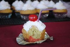 Kiddie Cocktail Cupcakes @Shugary Sweets