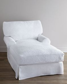 """""""Skylaar"""" Matelasse Chaise by Shabby Chic at Horchow....My sleeping/reading chair!"""