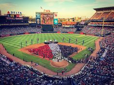 We love you Braves Country! #TurnerFieldFarewell