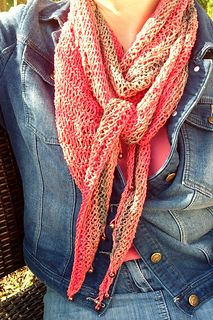 free pattern for loosely knit scarf