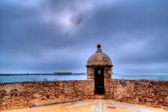 garita de Santa Catalina, Cádiz  por Manolo Dueñas