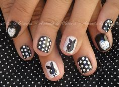 Playboy by roxchemicalera nail art gallery nailartgallery from nail art gallery playboy prinsesfo Image collections