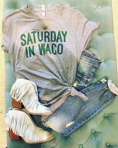 """Saturday in Waco"" t"