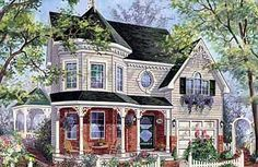 Compact Victorian - 80702PM | Country, Victorian, Canadian, Metric, Narrow Lot, 2nd Floor Master Suite, CAD Available, PDF | Architectural Designs