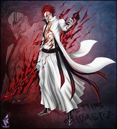 Xenethis Chimera: Red Rising by The-Crimson-X on DeviantArt Bleach Anime Art, Bleach Fanart, Bleach Manga, Evil Anime, Anime Oc, Manga Anime, Anime Fantasy, Dark Fantasy Art, Bleach Characters