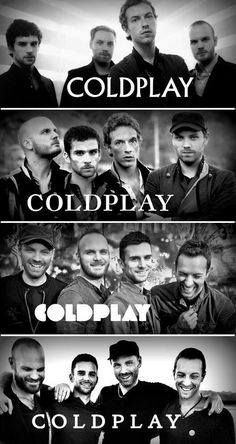 Coldplay evolution