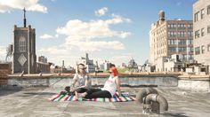 The Sky Life project photography 2015 New-York Marie Guillemin Soazig de la Moissonnière