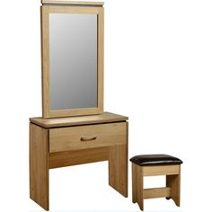 Charlotte Dressing Table with Mirror | Wayfair UK