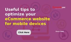 Increase product sales by optimizing your ECOMMERCE WEBSITE as per mobile devices.   Rely on TECHNICAL SOLUTIONS offered by SynapseIndia to expand your online business to a great extent. Business Sales, Online Business, Ecommerce, Helpful Hints, Website, Tips, Useful Tips, E Commerce, Counseling