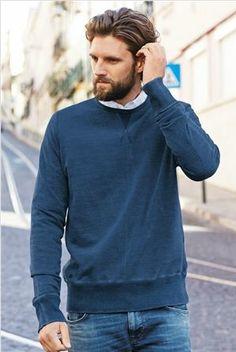 Navy Sweatshirt from nextdirect.com