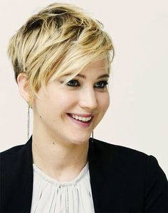 jennifer lawrence short haircut photos | Jennifer Lawrence – stunning with short hair
