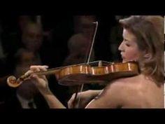 Anne Sophie Mutter Bach Partita for Violin No. 2 ,Mov III Sarabande i...