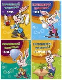 Estos libros te proponen experimentos sencillos y sorprendentes que te permitirán descubrir la ciencia de una forma entretenida.