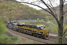 RailPictures.Net Photo: NS 8100 Norfolk Southern GE ES44AC at Altoona, Pennsylvania by Norfolk Southern Corp
