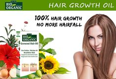 Now it's time for regrowth of your hair. Buy Bio organic and natural grow out hair oil products for hair growth. Grow out oil helps to hair regrowth and grow hair faster. Natural Hair Regrowth, Natural Hair Care, Natural Hair Styles, Organic Hair Oil, Ayurvedic Hair Oil, Hair Fall Solution, Herbs For Hair, Growing Out Hair, Hair Care Oil