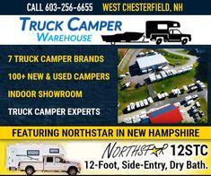 The Windwalker Wind Generator - Truck Camper Magazine Short Bed Truck Camper, Truck Campers For Sale, Best Truck Camper, Slide In Truck Campers, Pickup Camper, Truck Camping, Truck Bed, Camper Trailers, Camper Van