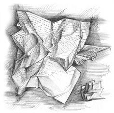 """FAIL BETTER"" exhibition book illustration on Behance"