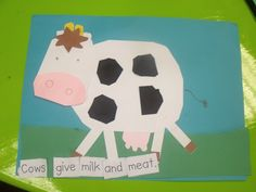 how to make farm animals out of paper
