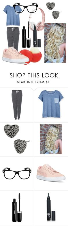 """""""Untitled #6"""" by style-angel123 ❤ liked on Polyvore featuring beauty, Topshop, MANGO, Betsey Johnson, Eos, Puma and Marc Jacobs"""